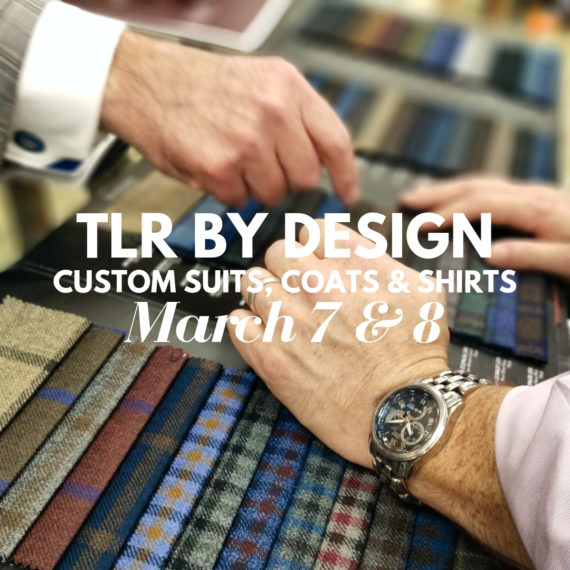 TLR BY DESIGN SS2019