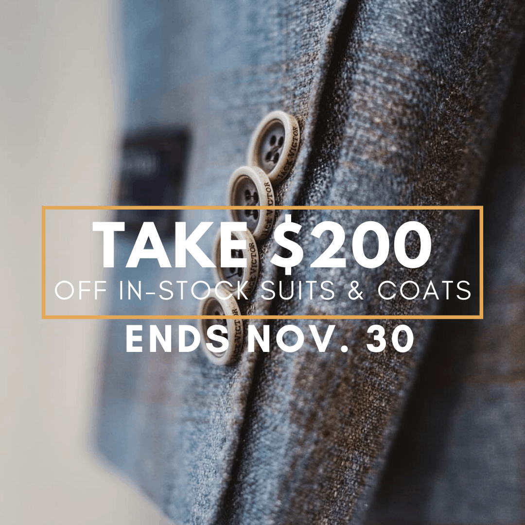 Fall Tailored Clothing
