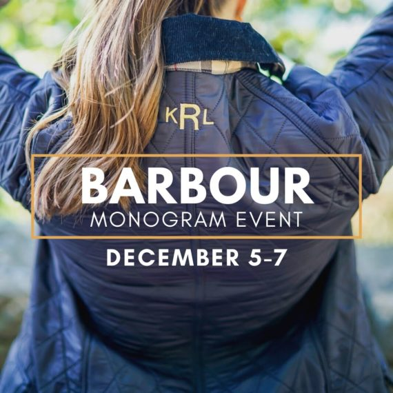 Barbour Monogram