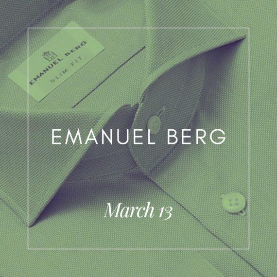 Emanuel Berg Event