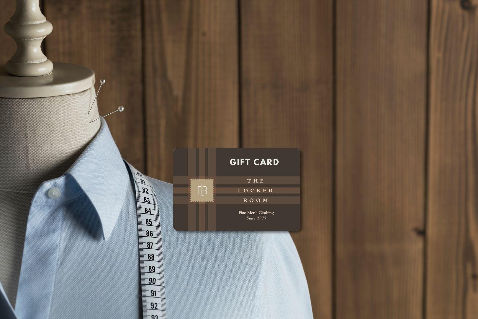 He'll Love a Gift Card